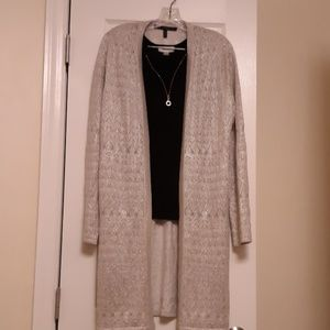 White House Black Market Duster Cardigan (NWT)